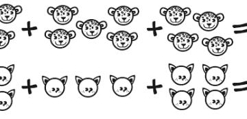 imagenes de sumas y restas para niños de primer grado