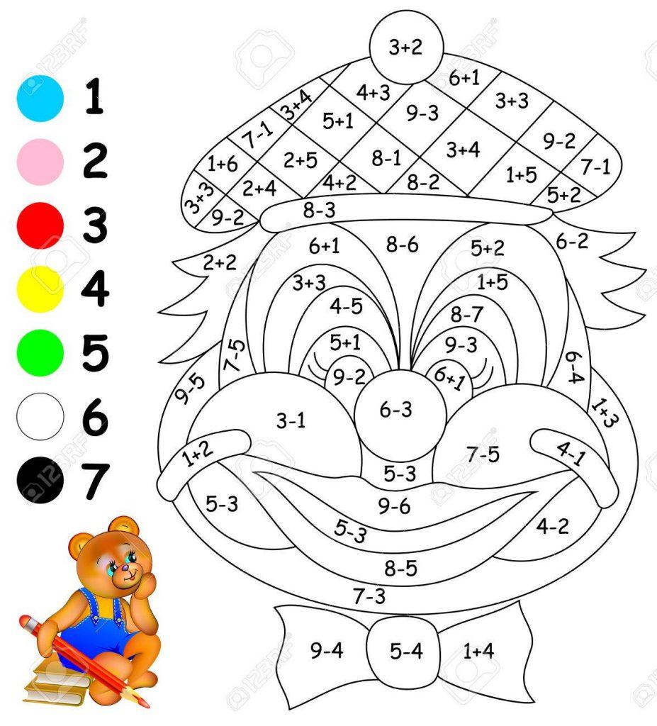 dibujos de matematicas con sumas y restas