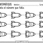 Ejercicios de series numéricas para niños de primaria