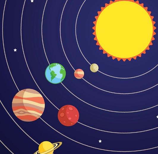 sistema solar para niños de primaria